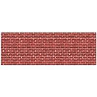 Beistle 1-Pack Brick Wall Backdrop for Party Decorations, 4-Feet by 30-Feet