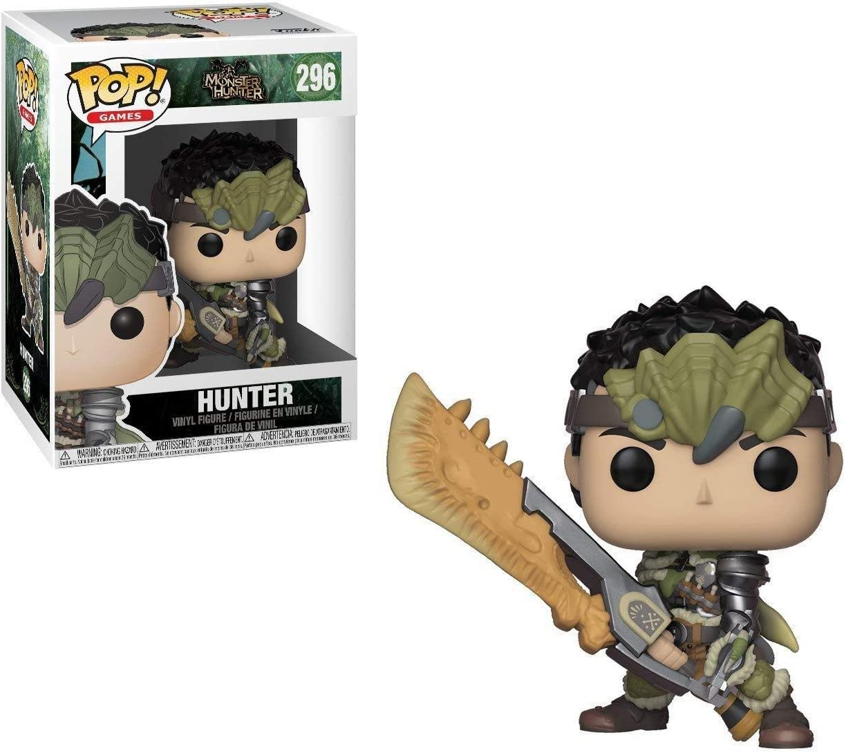 Funko Pop!- Games: Monster Hunters Male Figura de Vinilo (27344): Amazon.es: Juguetes y juegos