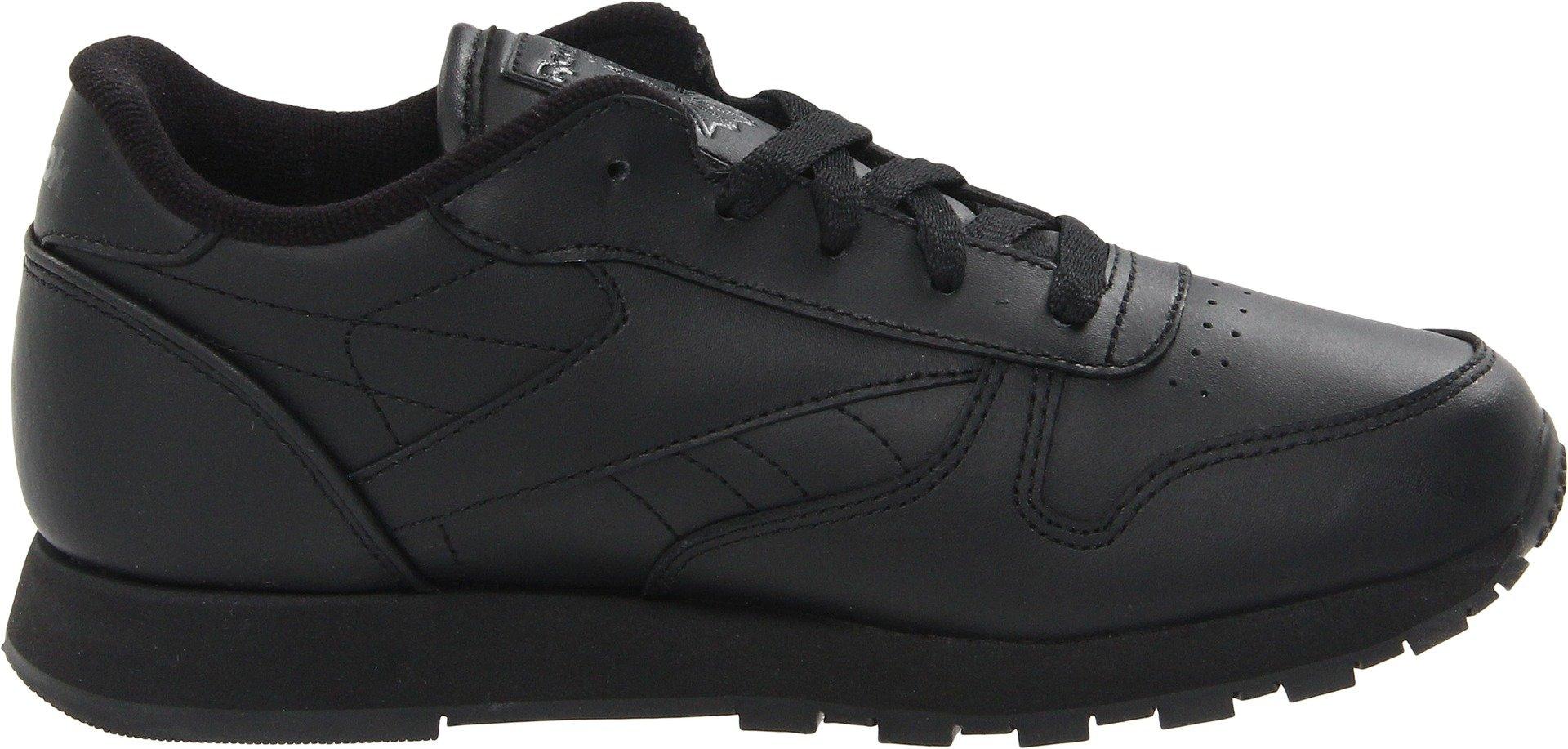Reebok Classic Leather Shoe,Black/Black/Black,11.5 M US Little Kid by Reebok (Image #6)