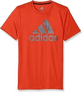 94b0f79cbc Amazon.com: adidas Boys' Short Sleeve Logo Tee Shirt: Clothing