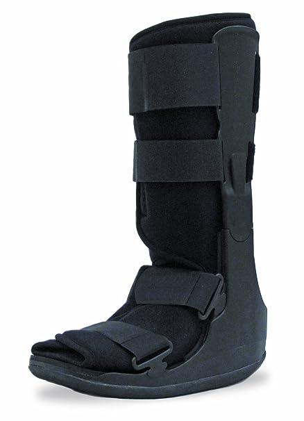 Médico Fractura Roto Tobillo Bota Apoyo. Fractura de tobillo, bota ortopédica, esguince,