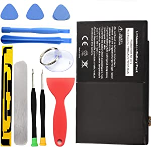 HDCKU Battery Replacement Kit for iPad Air 2 A1566, A1567 with Full Set Repair Tools.