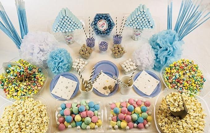 Mesa Dulce Candy Kit Azul Cumpleaños 60 comensales Aprox ...