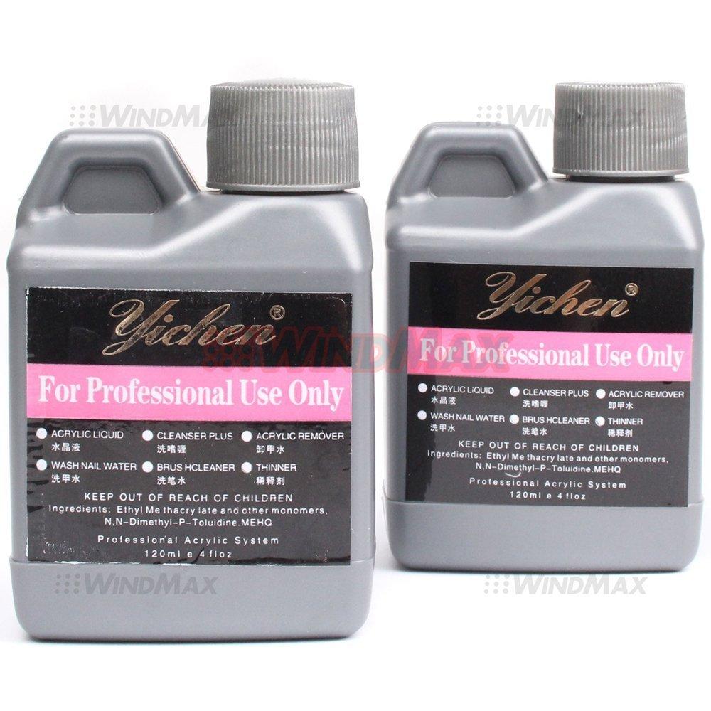 Amazon.com: 120ml Pink / White / Clear Nail Acrylic Powder for False ...