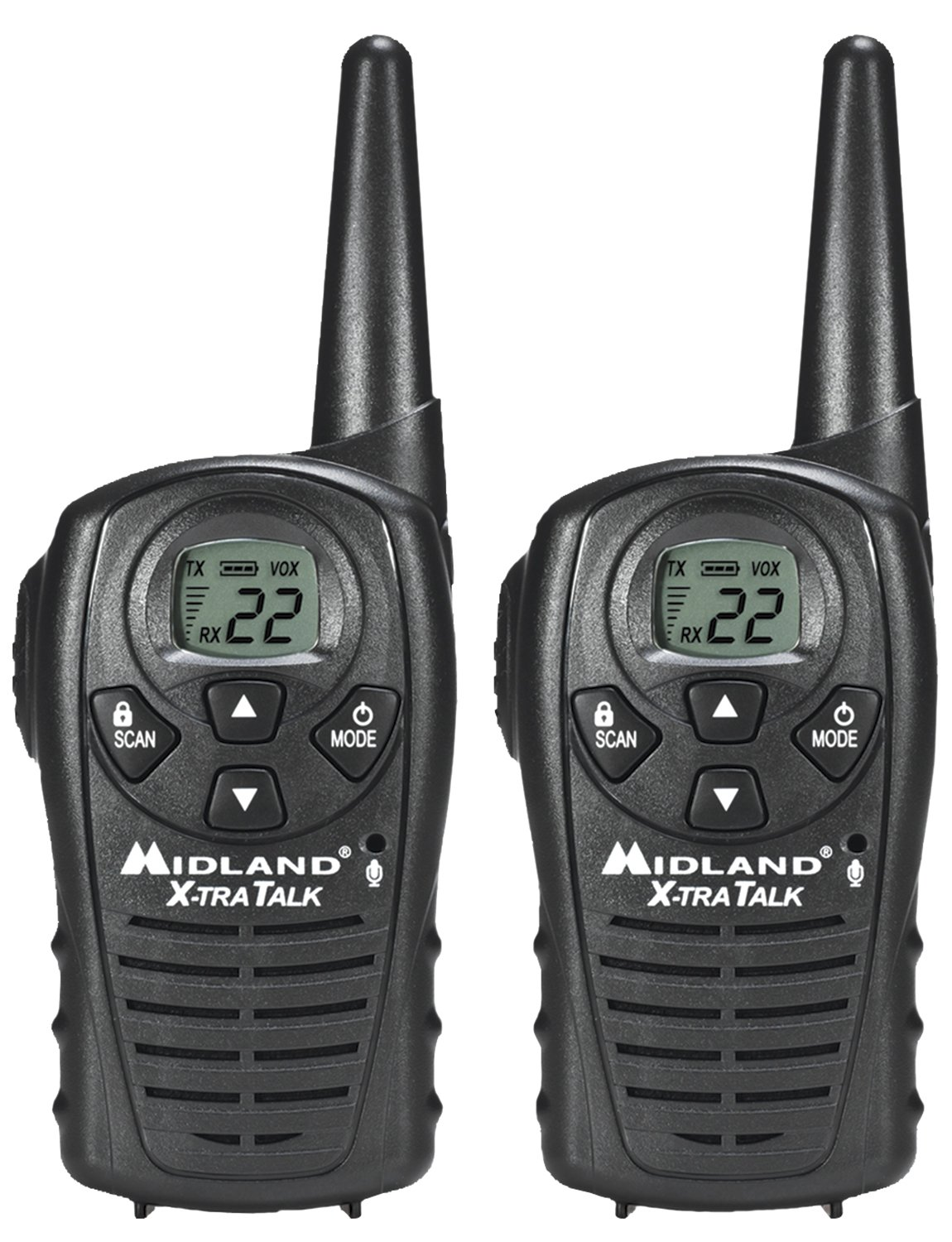 Midland Walkie Talkie >> Details About Midland Walkie Talkie 2 Way Radio Long Range