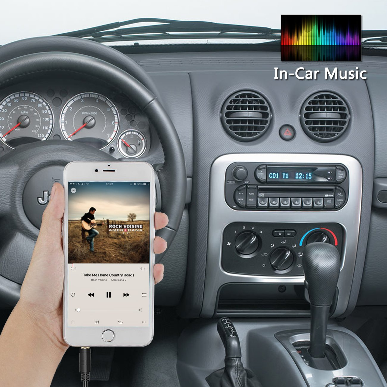 Apps2car car stereo aux adapter