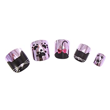 Amazon.com: Claires Girls Kids - Uñas postizas, diseño de ...