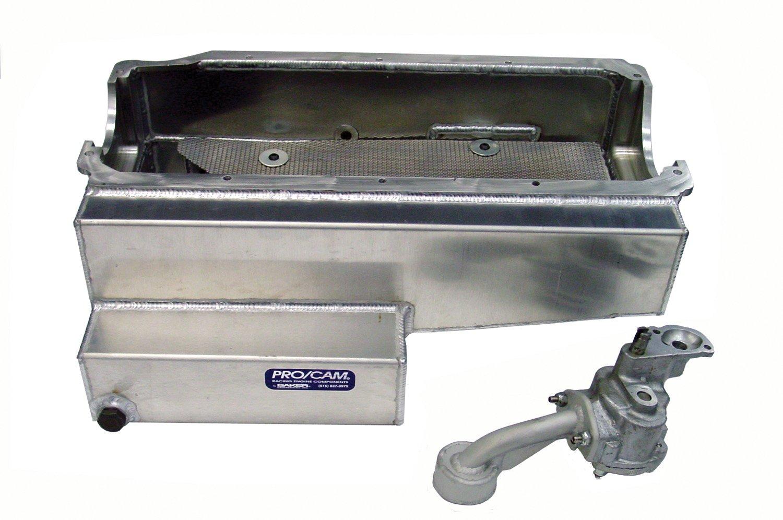 Pro/Cam 9138-6-SBC Small Block Chevy 6.5'' Aluminum Wet Sump Oil System
