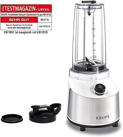 Krups KB1801 1, Acero Inoxidable y Cristal