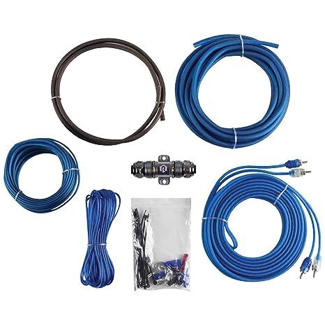 amazon com raptor r2ak8 8 gauge 8 awg power amplifier kit w rca for rh amazon com