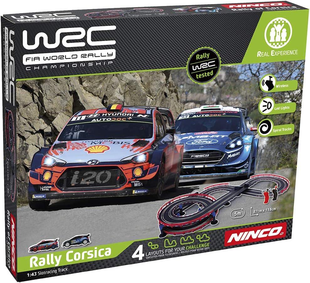 Ninco wrc rally corsica Circuito Slot, color variado, única (Fábrica De Juguetes 91012) , color/modelo surtido: Amazon.es: Juguetes y juegos