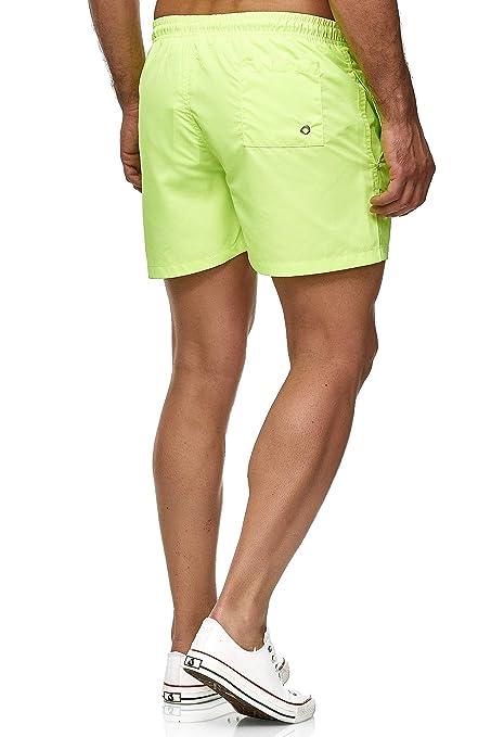 Pantalones Cortos de ba/ño para Hombre para el Tiempo Libre Pantalones Cortos de nataci/ón Red Bridge