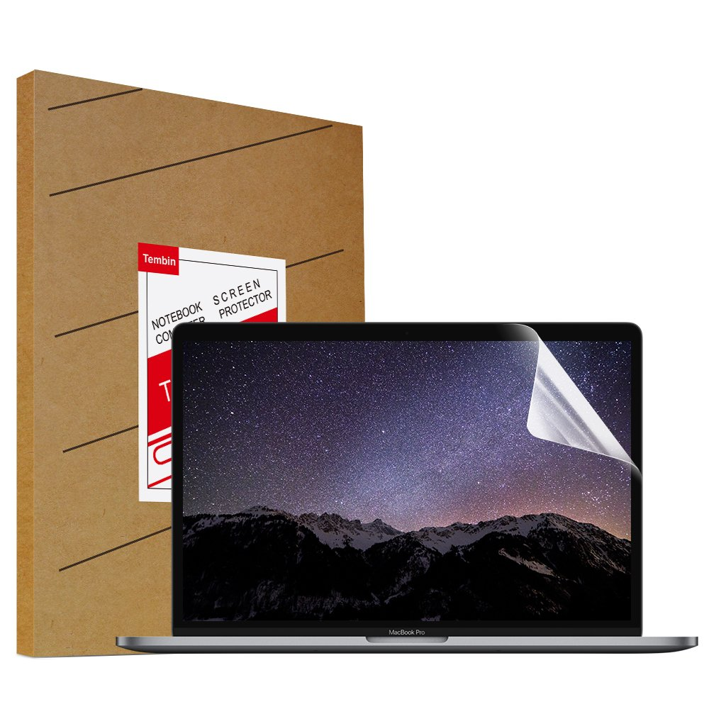 Tembin High Definition Scratch Proof Laptop Screen Portector for MacBook Pro 13.3\