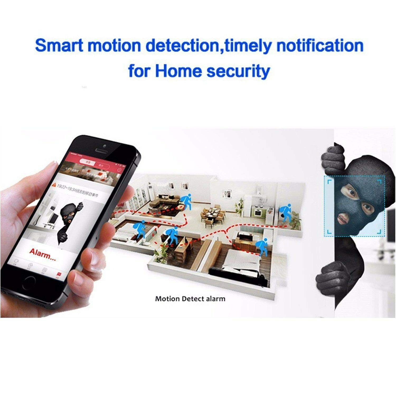 E26 1080P HD WiFi Telecamera di Sicurezza IP Cam Amyove Webcam Camera Lampada a 360 /° panoramica E27