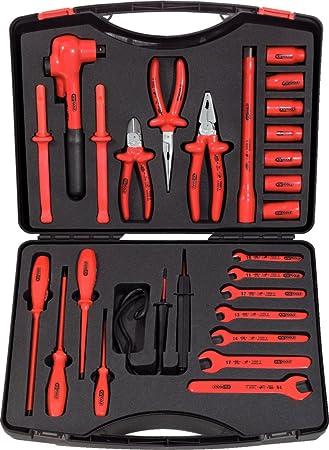 KS Tools 117.1840 Pack Herramientas en maletín, 26pcs, Set de 26 Piezas: Amazon.es: Bricolaje y herramientas