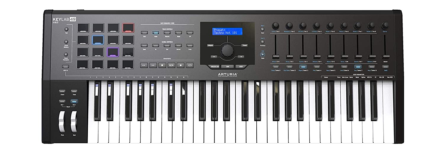 ARTURIA KEYLAB 61 BLACK EDITION KEYBOARD CONTROLLER WINDOWS 7 X64 TREIBER