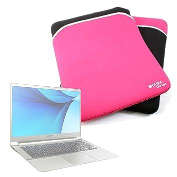 "DURAGADGET Funda Reversible De Neopreno para Portátil LG gram 15"" / Samsung Notebook 9 15"""