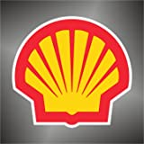– pegatinas Shell Sport Auto Rally Formula 1 racing Decal Sticker, 10 cm