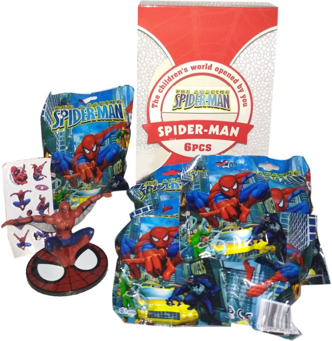 Amazon.com: HALO NATION Spider-Man Surprise Toy Packs ...
