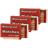 Emergency Zone Matches Waterproof & Wind/Waterproof Matches. Stormproof. Bulk Options. Available in 3, 5, 10, 50, and…