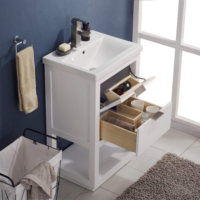 """Affordable Kitchen And Bath: CHEAP Luca Kitchen & Bath LC20GWP Sydney 20"""" Bathroom"""