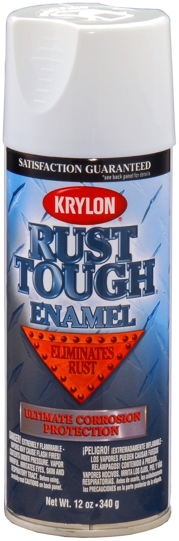 amazon krylon rta9200 rust tough gloss white rust preventive Krylon Gloss Spray Paint Colors Chart amazon krylon rta9200 rust tough gloss white rust preventive enamel 12 oz aerosol automotive