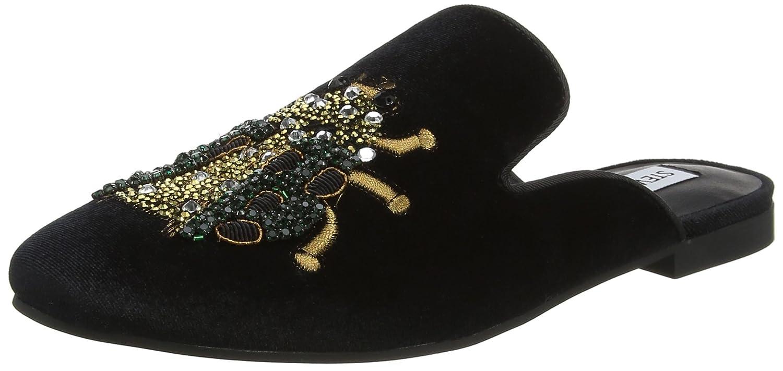 Steve Madden Hugh, Mocassini (Loafer) Donna Multicolore (Black Multi Beetle)