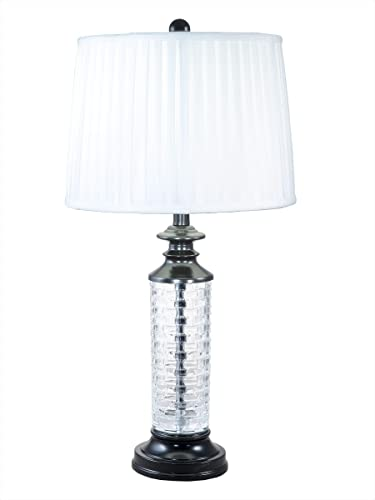 Dale Tiffany GT18316 Overland 24 Lead Crystal Table Lamp