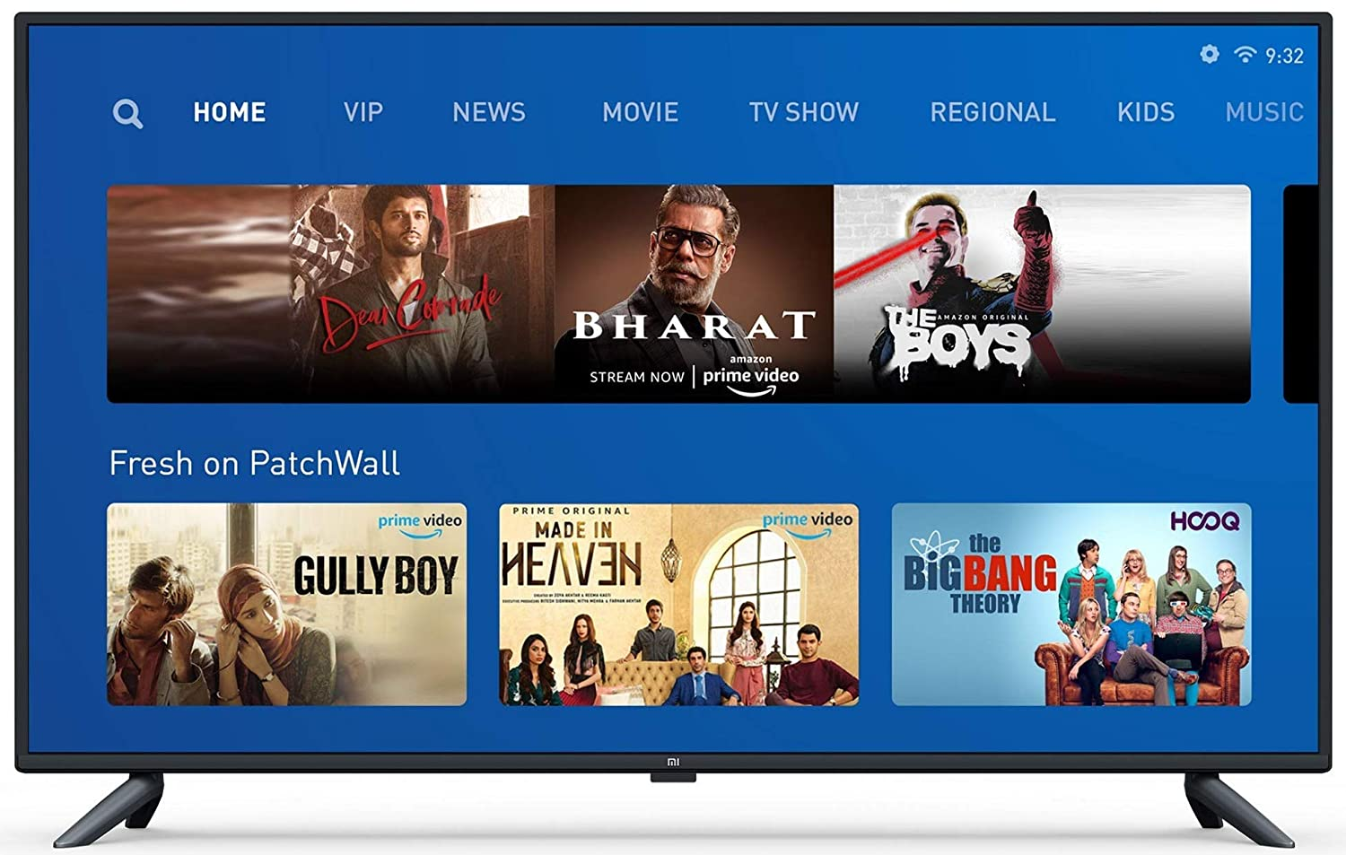 Image result for Mi tv 4X 64(Best overall LED TV In India)