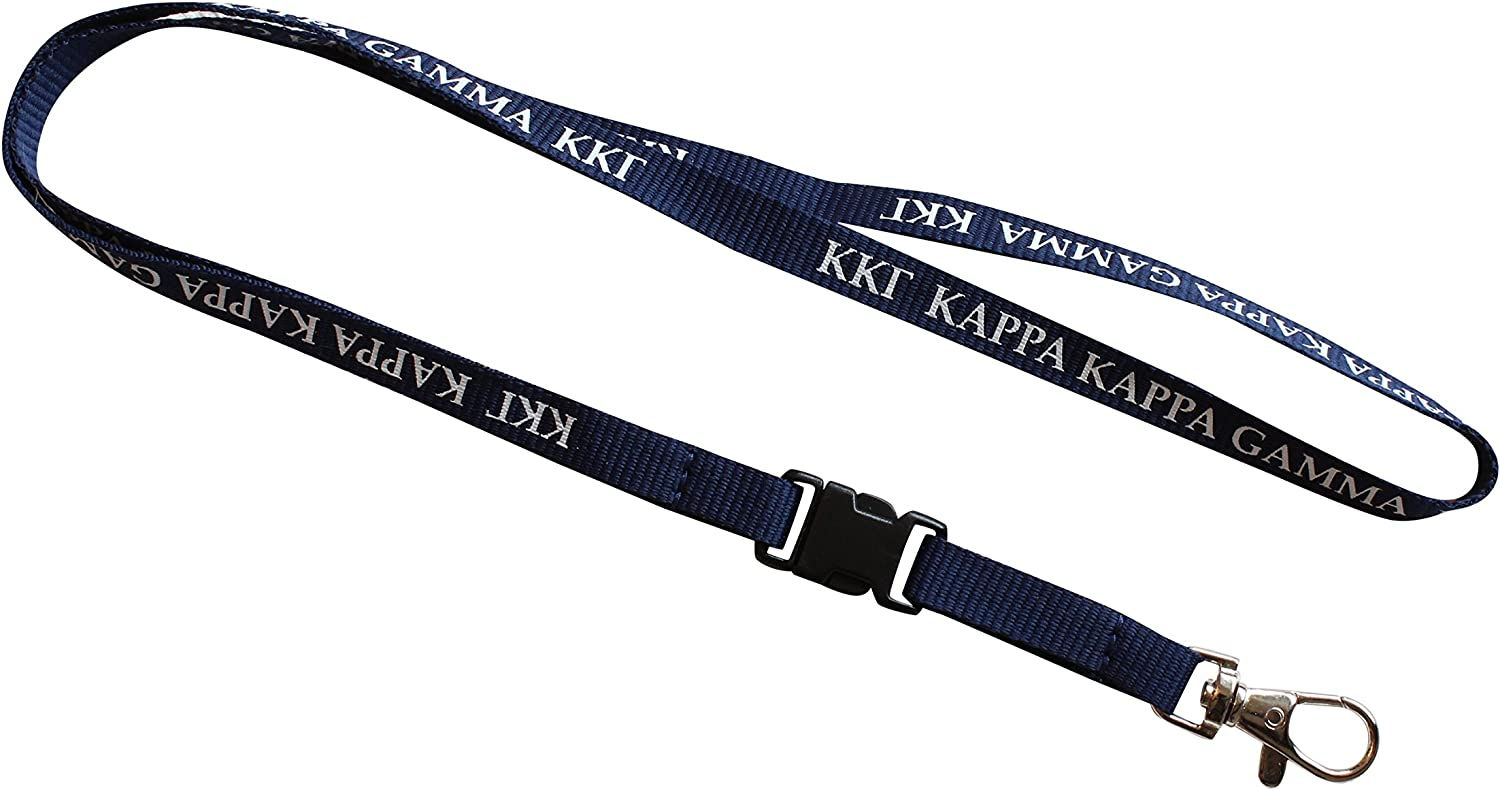 Gamma Phi Beta Lanyard With Buckle Licensed Vendor