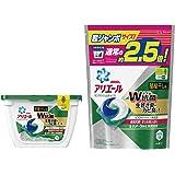 【まとめ買い】 アリエール 洗濯洗剤 リビングドライジェルボール3D 本体 18個入 + 詰め替え 超ジャンボ 44個入