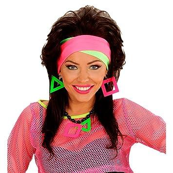 80s Neon Headband Hair Band Hair Band Headbands Hair Accessory Headband  Halloween Costume Clothes Garment Accessories 2a13f08bfc5