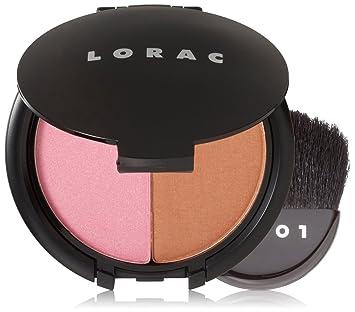 Amazon.com: LORAC Blush/Bronzer Duo, Hot Flash: Luxury Beauty