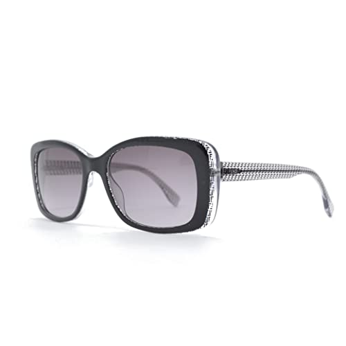 Fendi 0002/S Sunglasses-06ZV Black Crystal (EU Black Gradient Lens)-53mm