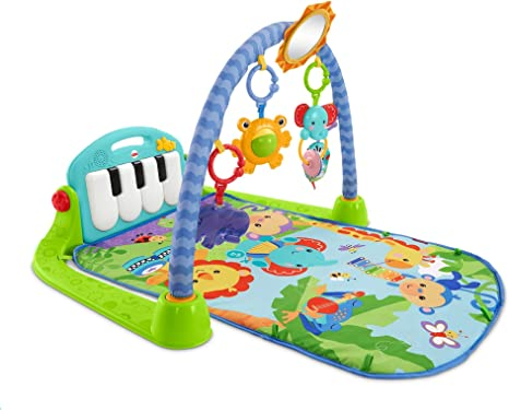 5 in 1 Baby Piano Play Mat Safai Lay Kick Sit Play Toddlers Activity Gym Arch UK