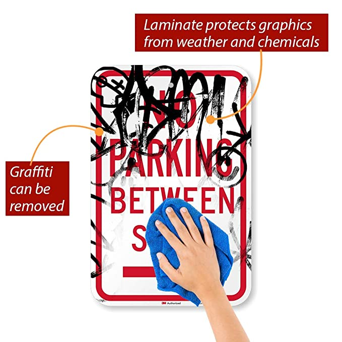 Amazon.com: smartsign Parking Sign, Leyenda