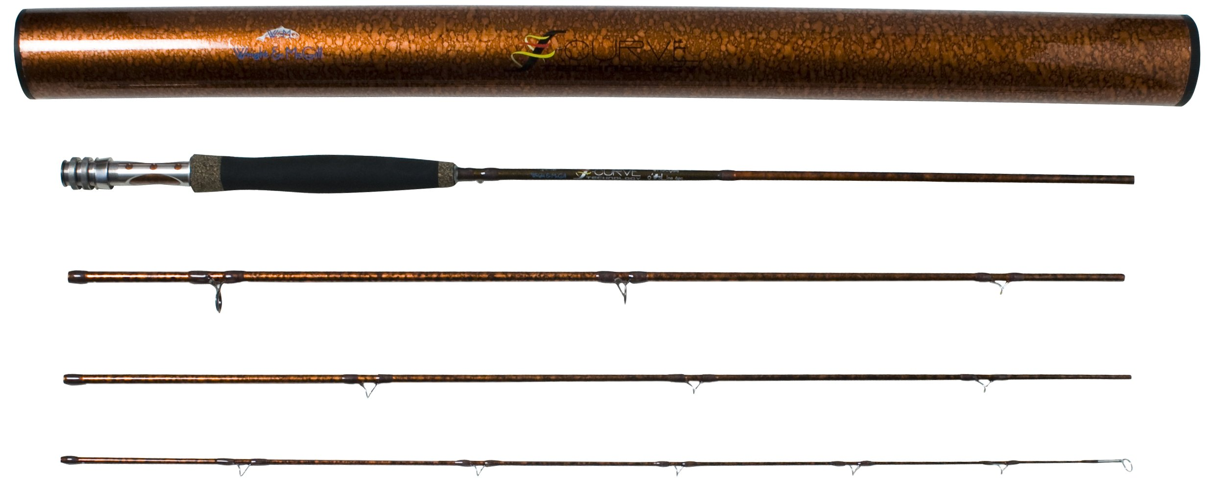 Wright & McGill Generation II S-Curve 4 Weight Fly Rod (9-Feet)