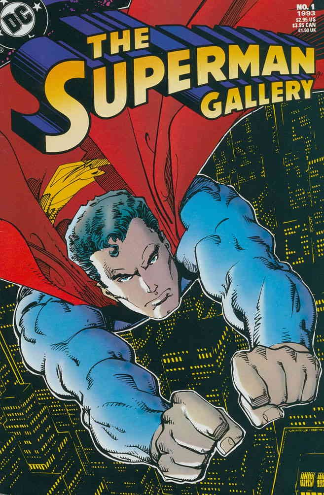 Superman Gallery, The #1 VF ; DC comic book