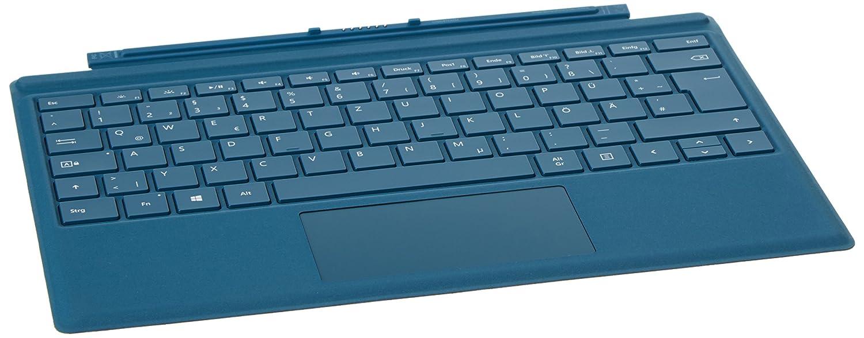 Microsoft Surface Pro 4 Type Cover - Teclados para móviles (Docking, Microsoft, Surface Pro 4, Surface Pro 3, QWERTZ, Verde) [Importado de Alemania]: ...