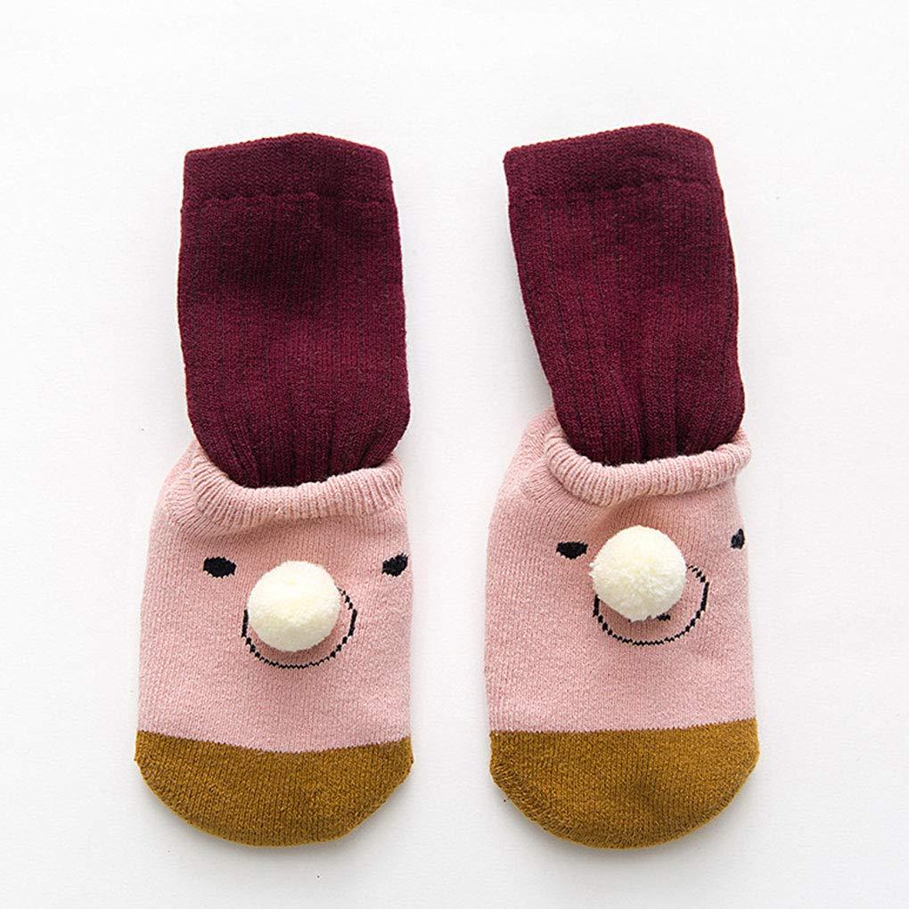 Miaomiaogo Unisex Baby 0-3 Years Autumn Winter Non-Skid Floor Socks Children Antiskid Nonslip Slip-Resistant Toddlers