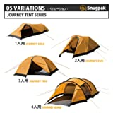 Snugpak Journey Quad Backpacking Tent, Sunburst