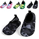 L-RUN Kids Quick-Dry Water Shoes for Beach Pool