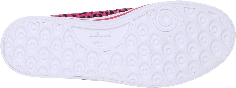 Adidas Honey Mid Femme Baskets Mode Rose Rose
