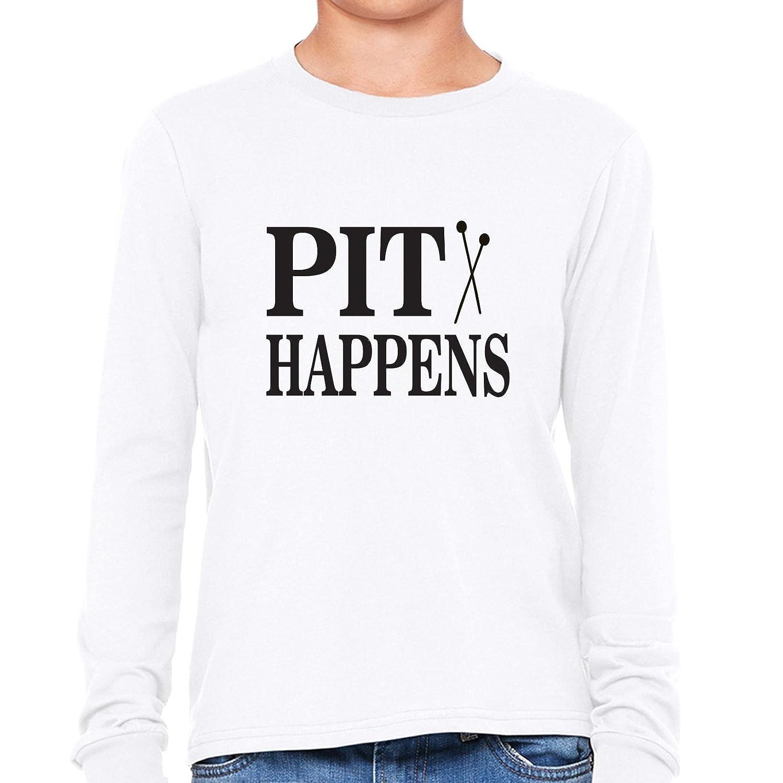 Musical T Shirt Designs | Amazon Com Hilarious Orchestra Band Pit Happens Musical Boy S Long