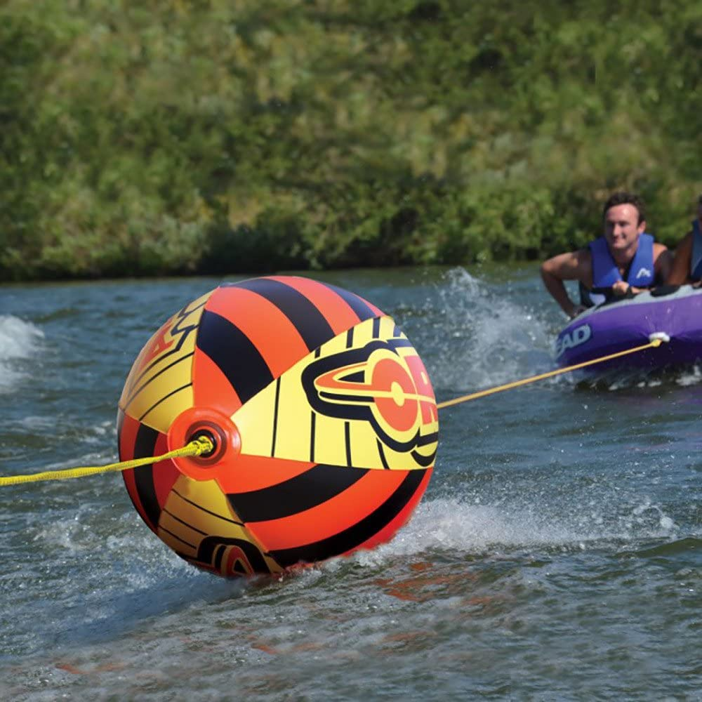 SPORTSSTUFF 53-1780 Chariot Warbird 2 Double Rider Towable Inflatable Water Tube