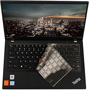 for Thinkpad Keyboard Cover Soft-Touch Clear Protective Skin for Lenovo Yoga 260, Yoga 370, ThinkPad X380 Yoga, ThinkPad X230S X240 X240S X250 X260 X270 X280 Laptop