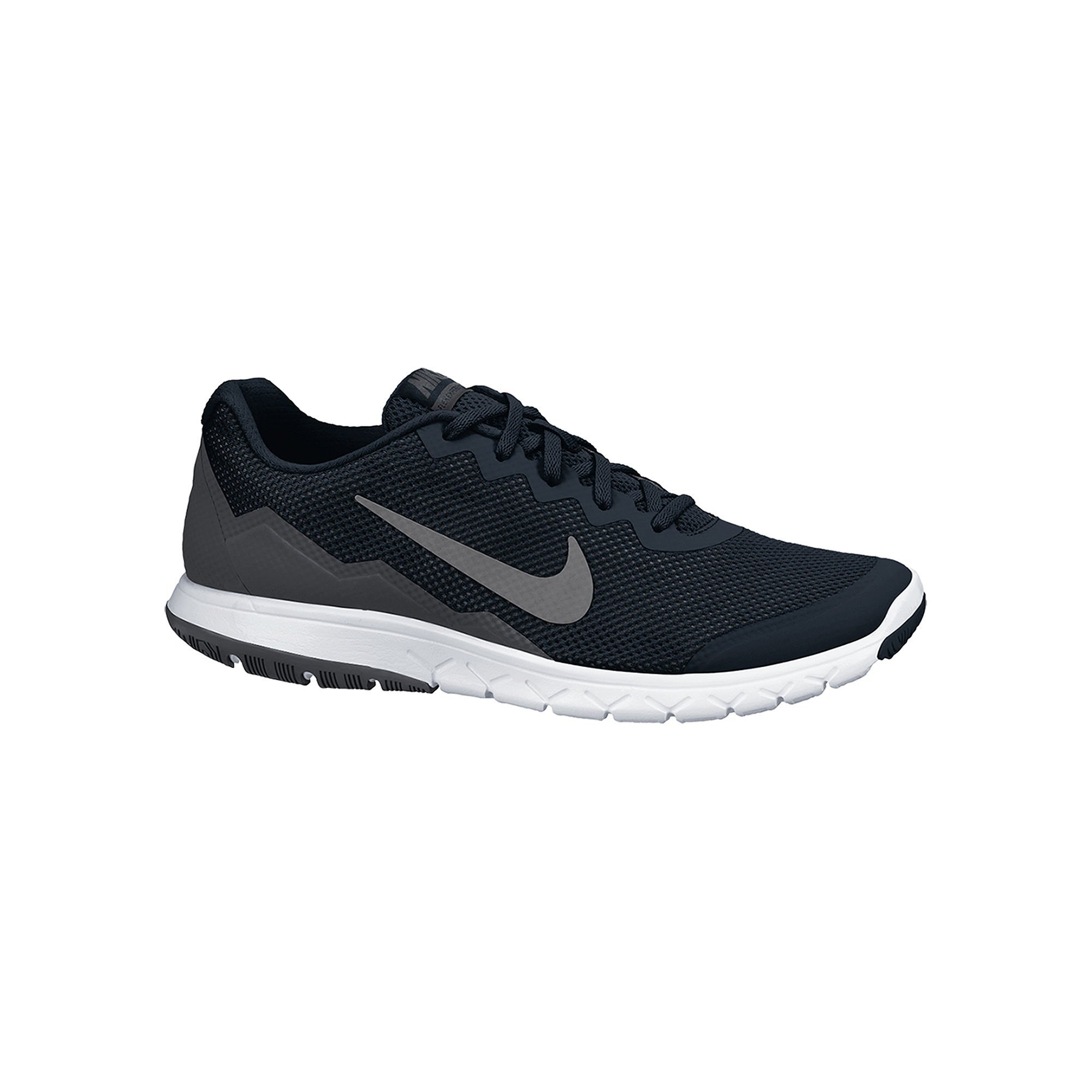 size 40 a09b8 07e6b Galleon - Nike Men s Flex Experience RN 4 (Black Mtlc Drk Gry Anthracite  White) Running Shoe, 6 B(M) US