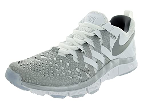 a7345850a7063 Nike Free Trainer 5.0 NRG Mens Trail Running Shoes White Reflect Silver Dark  Grey 6.5 D(M) US  Buy Online at Low Prices in India - Amazon.in