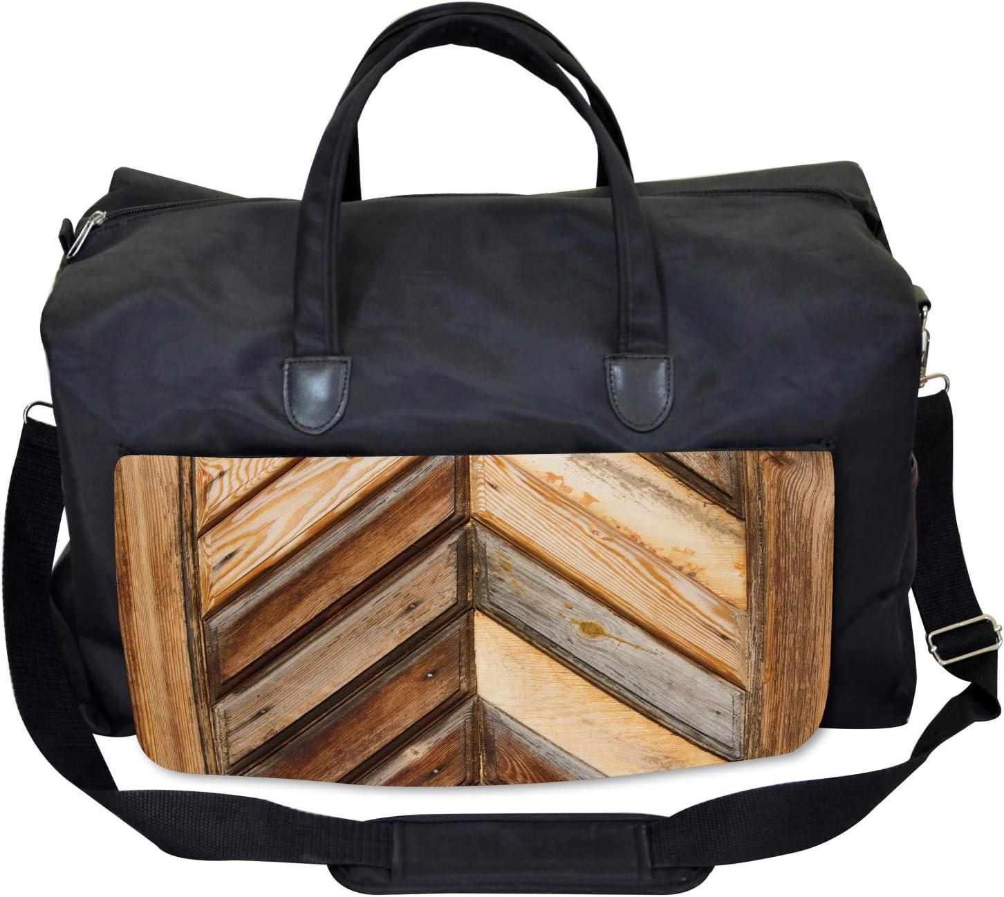 Grunge Nature Gardening Ambesonne Vintage Gym Bag Large Weekender Carry-on