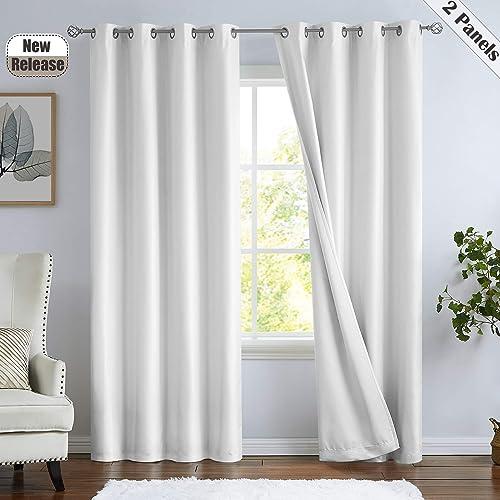 Ronaldecor 100 Blackout Window Curtain Panels